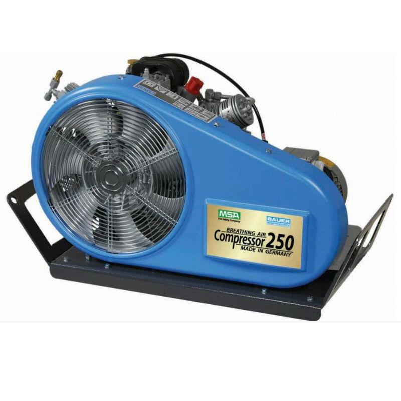 梅思安10151190 高压空气压缩机250T 400V 2根充气管