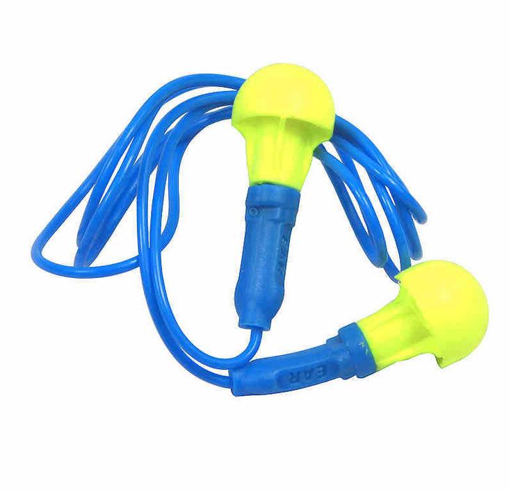 3M 318-1005 免揉搓泡棉带线耳塞(SNR38dB)