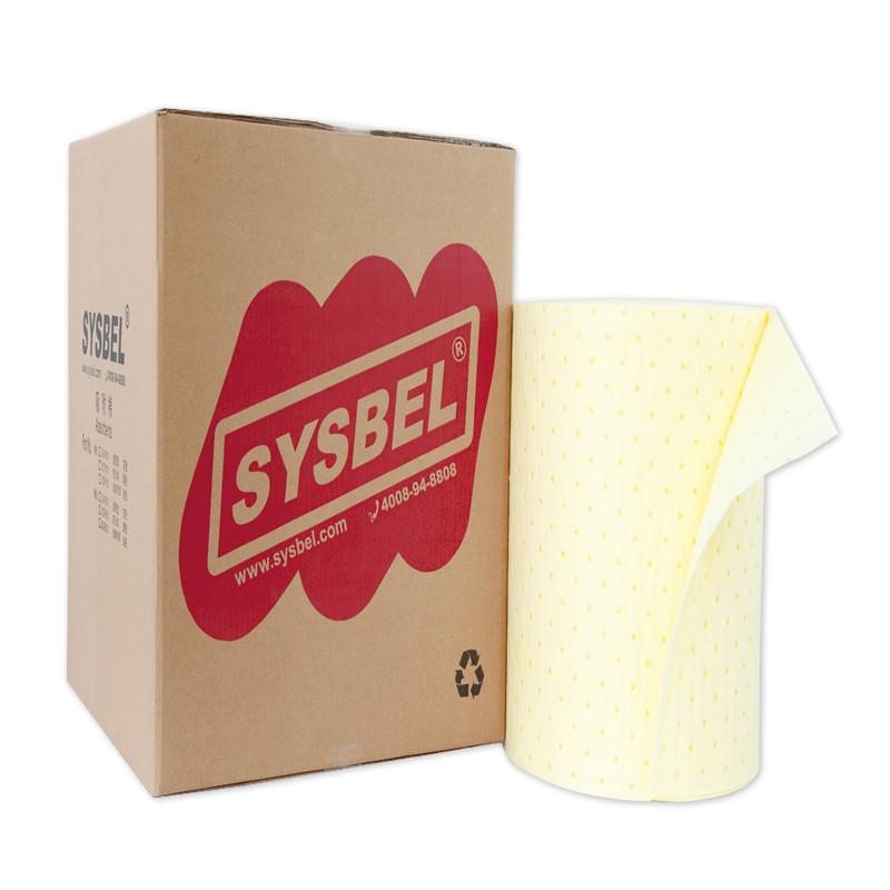 SYSBEL西斯贝尔 SCR001 防化类吸附棉卷(易撕型 轻型)