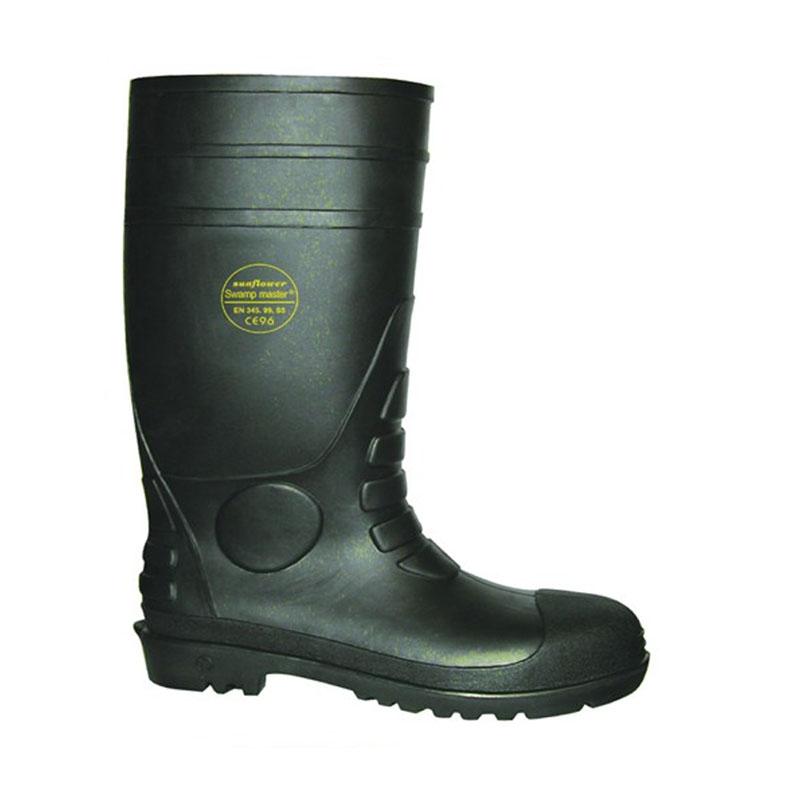 莱尔SL-2-99黑底双钢防化靴
