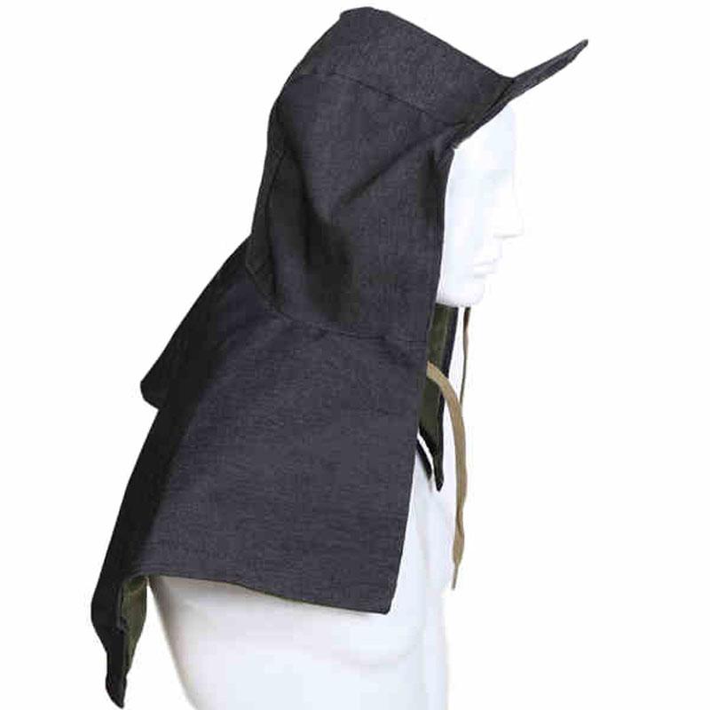 牛仔布披肩帽
