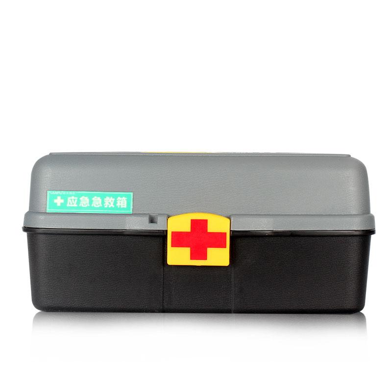 蓝夫LF-12808办公应急急救箱(红)
