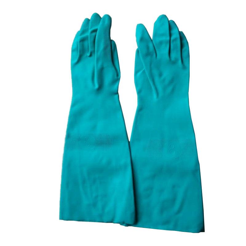 来百利RNU22-18-9丁腈橡胶防化手套