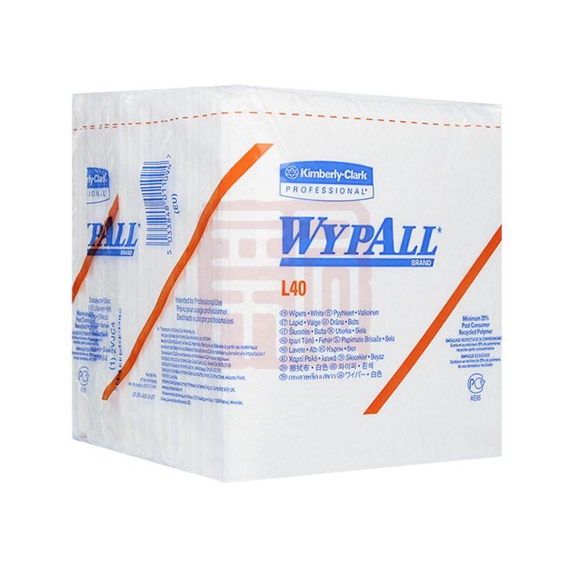 金佰利05701 WYPALL* L40 工业擦拭纸(折叠式)封面