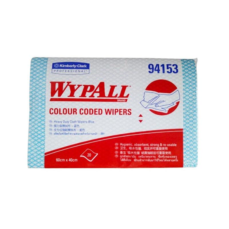 金佰利94153WYPALL*强韧型彩色清洁擦拭布(蓝色)