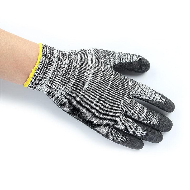安思尔Ansell 48705玻璃纤维PU涂层5级防割手套 8号(升级为48705)