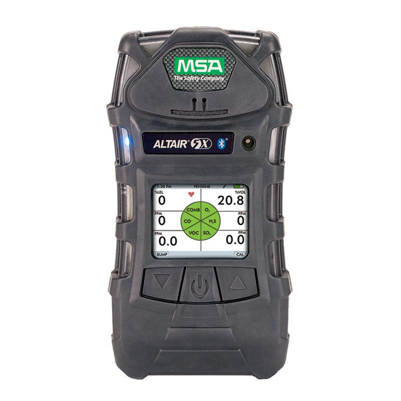 梅思安10176752天鹰5X便携式多种气体检测仪(LEL/O2/NH3/H2S/VOC/彩屏)