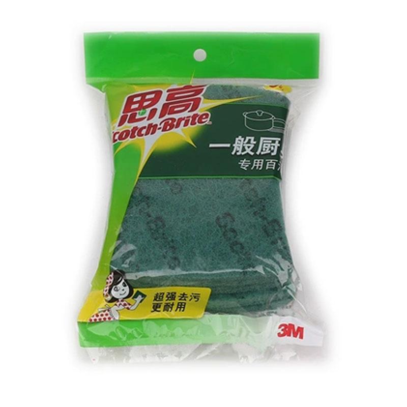 3M 思高铁锅碗盘专用百洁布(大碟)7105