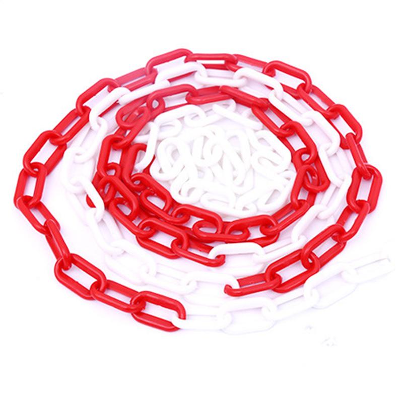 百劳汇2-011红白警示塑料链条