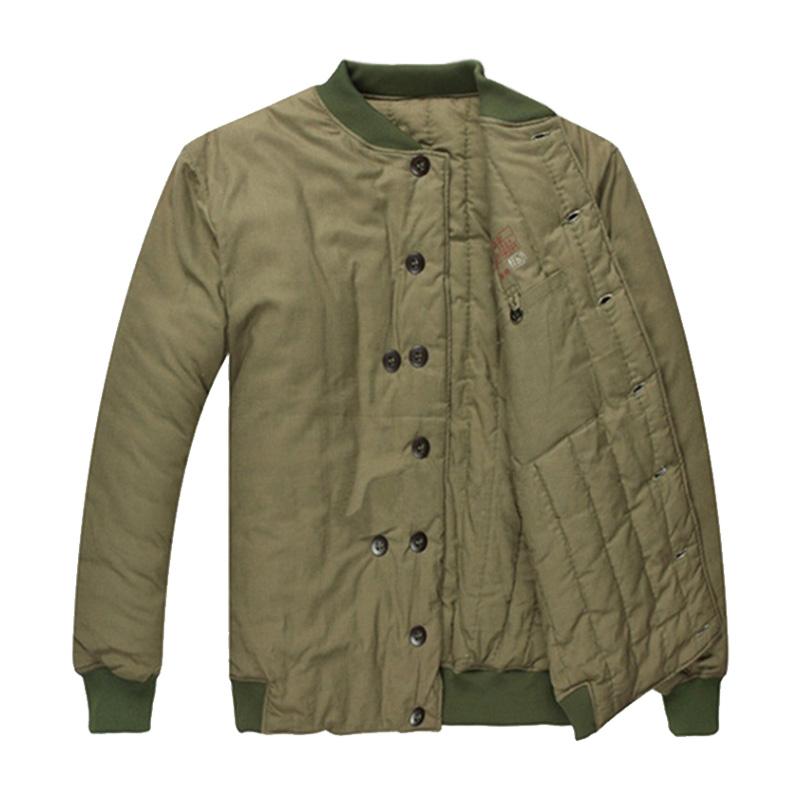 百劳汇116-001自制棉衣
