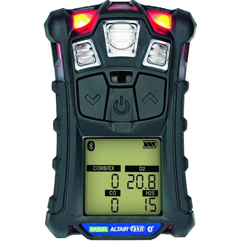 梅思安10184646(国外进口版)天鹰4XR蓝牙版多种气体检测仪 LEL/O2/CO/H2S(可燃气/氧气/一氧化碳/硫化氢)