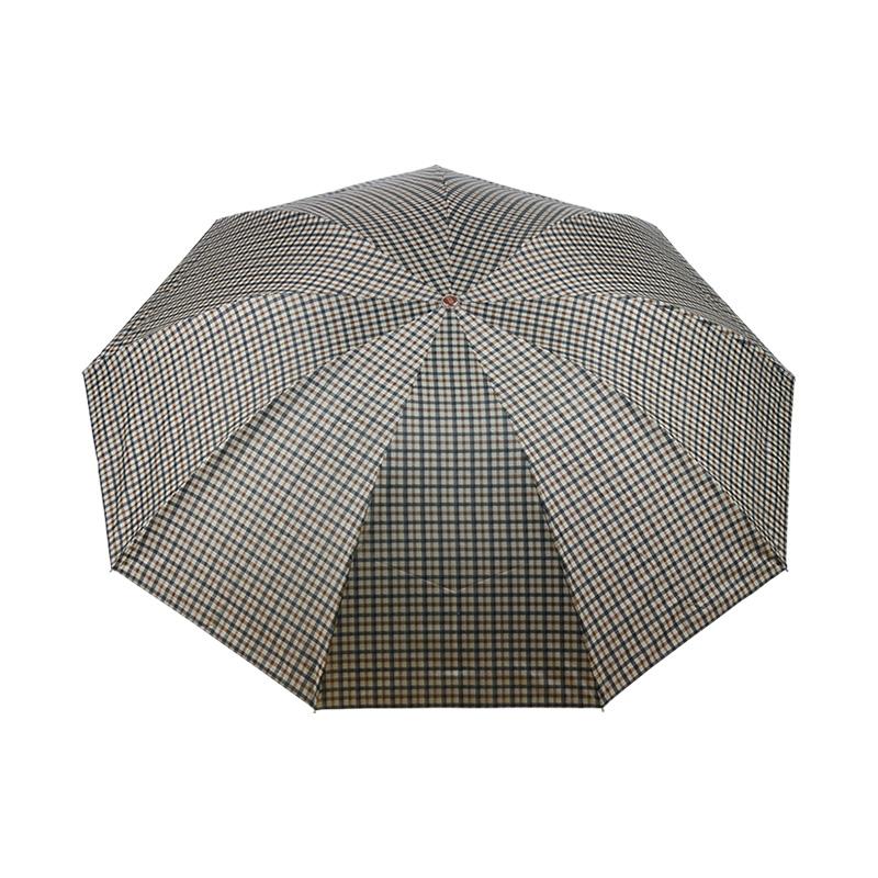 天堂3912隐格银胶雨伞-蓝色