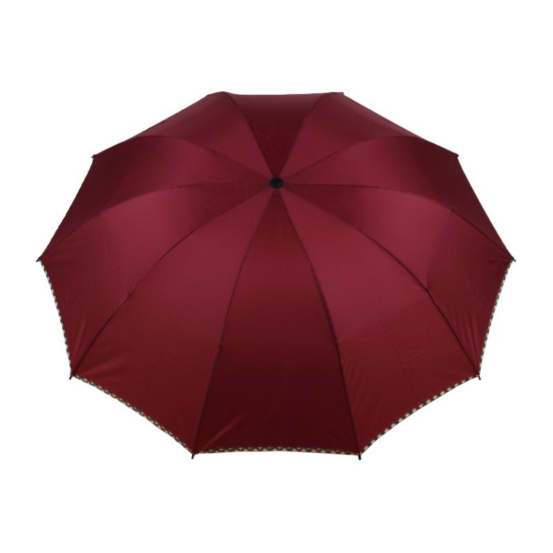 春和3602包边商务雨伞