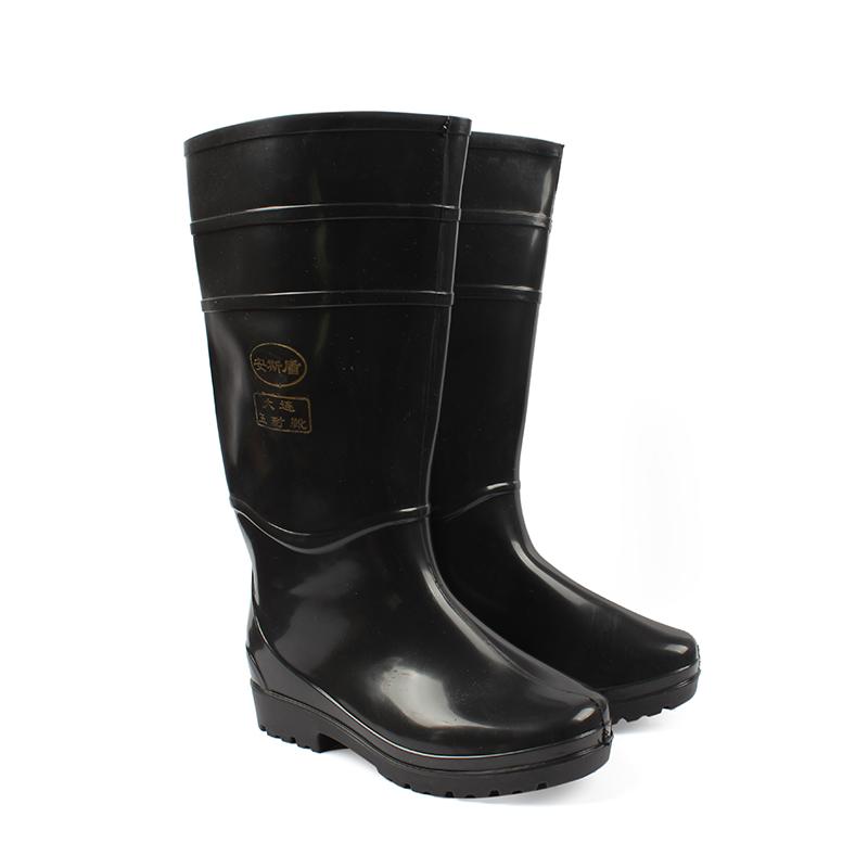 安斯盾高筒水靴 黑色
