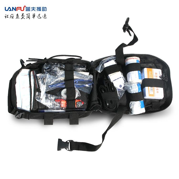 蓝夫LF-12203户外应急急救包(黑色)