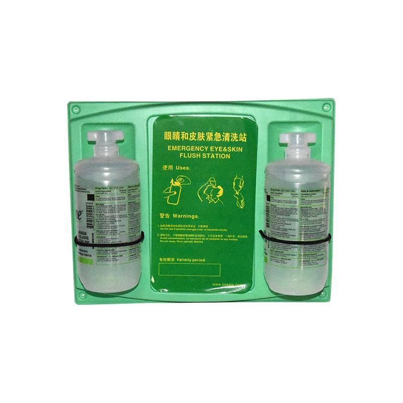 霍尼韦尔32-000462-0000 32盎司 双瓶洗眼液套装 带挂板