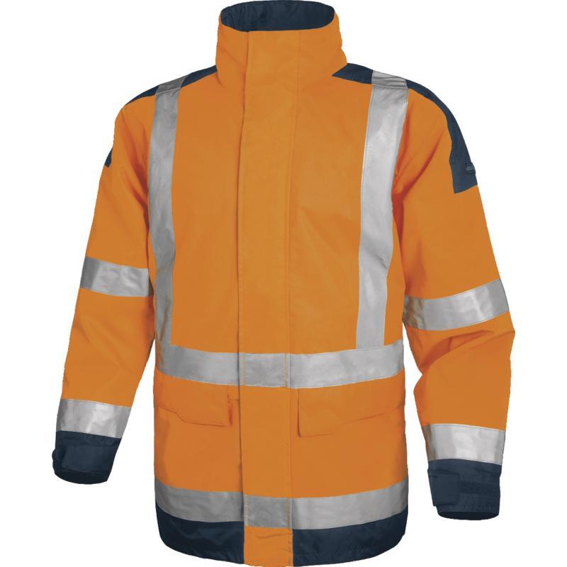 代尔塔 404011 EASYVIEW 防寒服-橙色-L