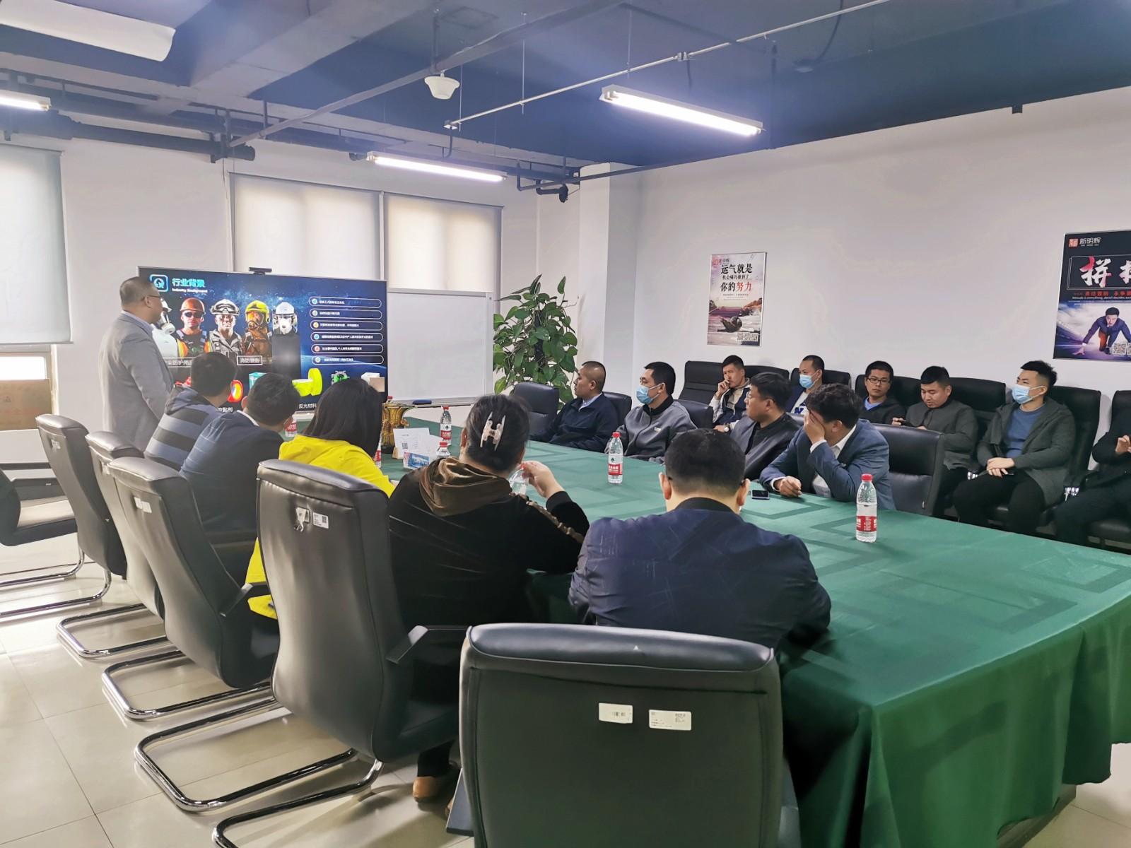 临沂市商务局组织本地知名企业参观考察新明辉商城