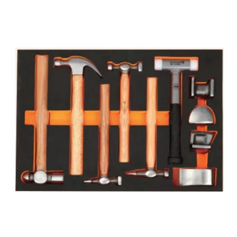 钢盾 11件锤子类工具托组套,S025050