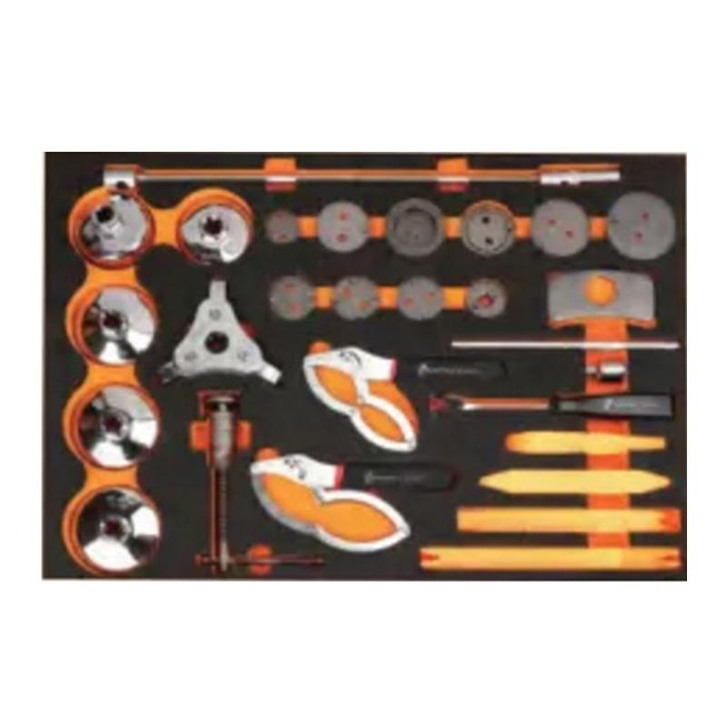 钢盾 26件综合工具托组套 S025051