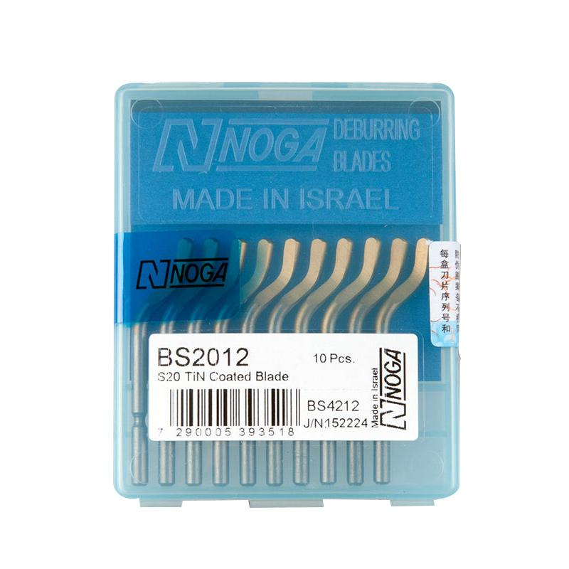 诺佳 毛刺刮刀刀头(10片/盒),BS2012