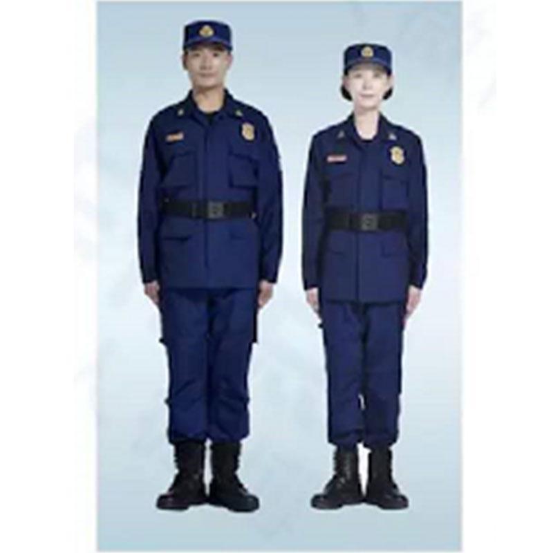际华 消防干部(指挥员)夏季作训服全套,含肩章、胸章、袖章、帽徽等