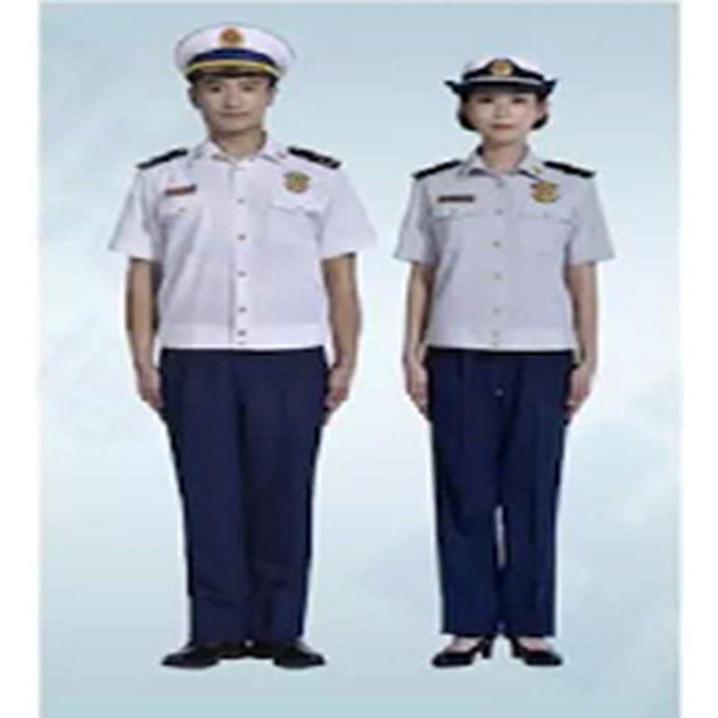 际华 消防干部(指挥员)短袖夏季常服全套,含帽子、腰带、皮鞋、肩章、胸章、袖章、帽徽等