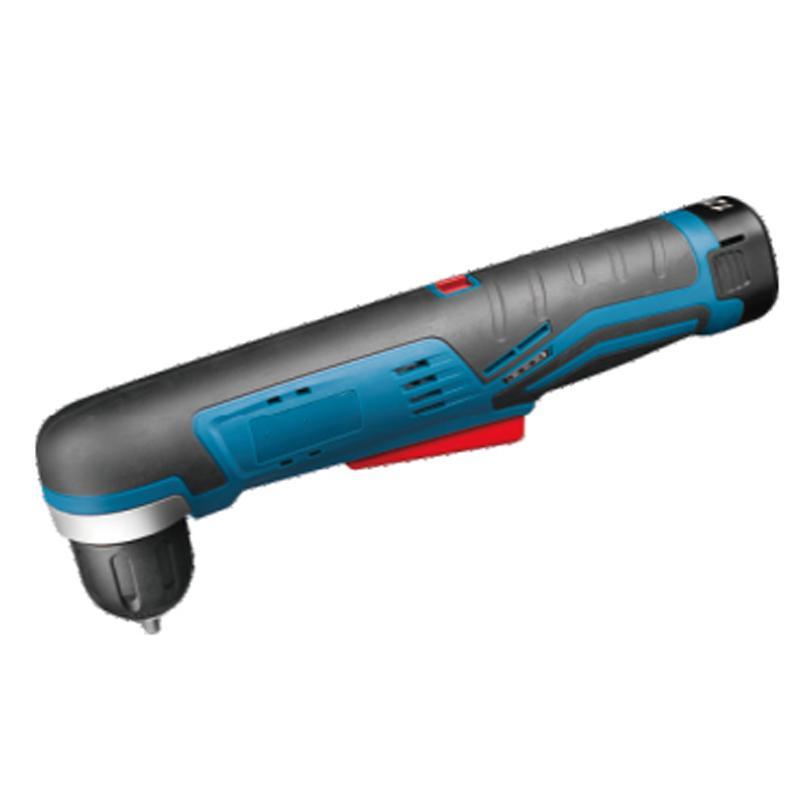 东成充电式角向起子电钻,夹持能力10mm,11Nm,12V 2.0Ah电池 两电一充,DCJZ14-10E型
