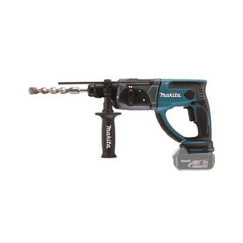 牧田 四坑充电式电锤,混凝土20mm,3.2Kg 裸机,DHR202Z