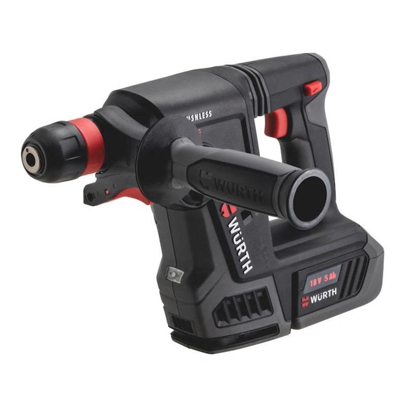 伍尔特 充电式电锤,混凝土26mm,18V 5.0Ah 两电一充,5701403084