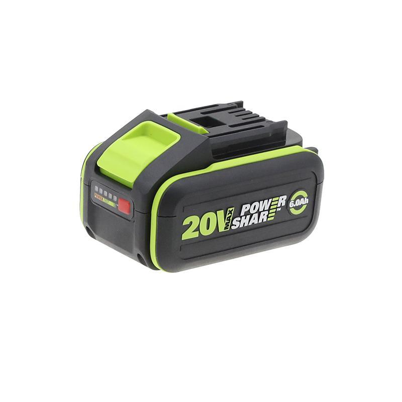 威克士外置式锂电池,20V/6.0Ah,WA3401