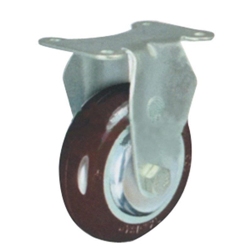 申牌 5寸尼龙中型脚轮,平底固定 载重(kg):145 轮宽(mm):32 全高(mm):160,20A30-1021