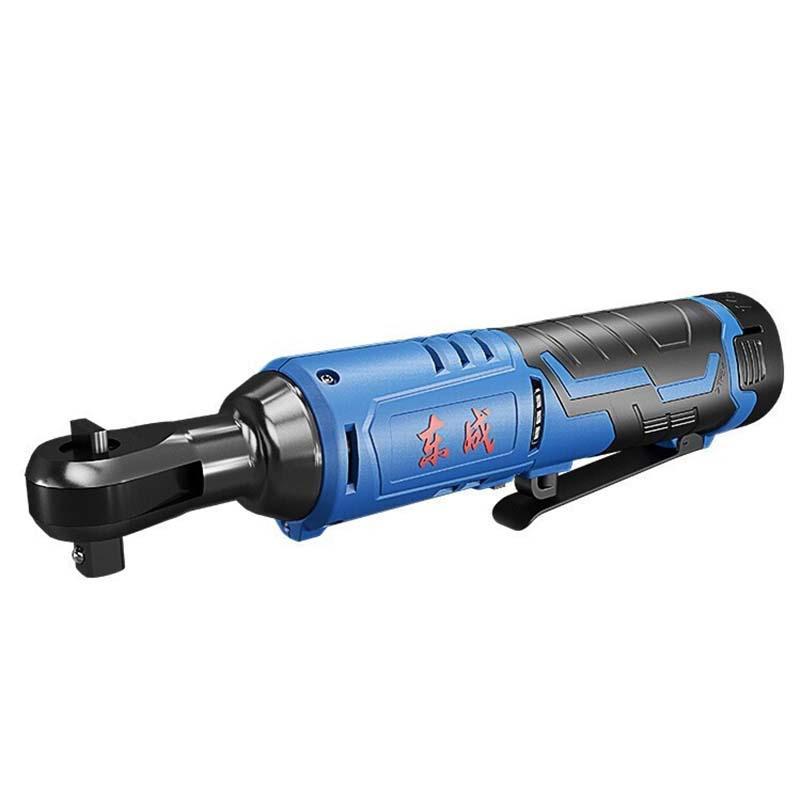 东成 充电式棘轮扳手,3/8寸(9.5mm)方头,12V 2.0Ah 两电一充,DCPB02-10E型
