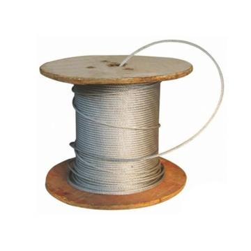 镀锌钢丝绳,规格:Φ19.5mm,6*37+FC