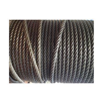 油性钢丝绳,规格:Φ26mm,6*37+FC