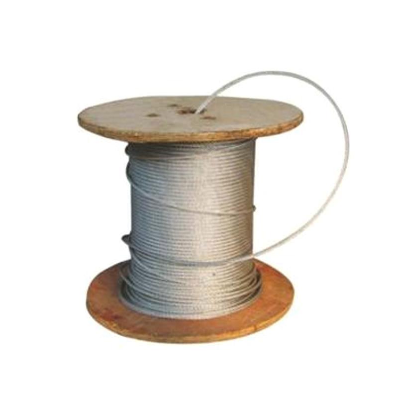 起泽 镀锌铁丝绳 8×4股