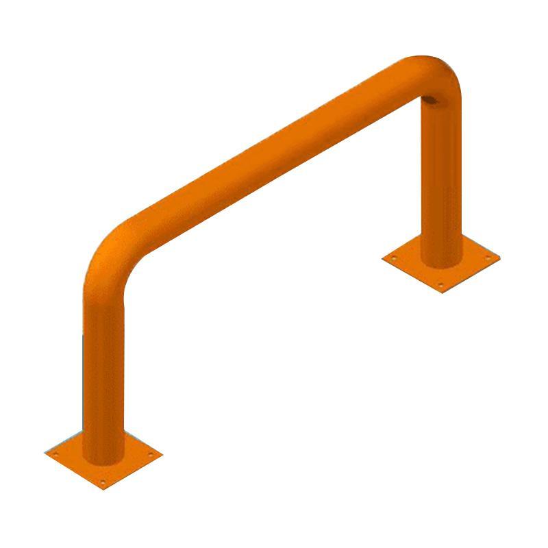 至腾 重型货架防撞栏,N型,产品尺寸(长×高mm):L1000×H500