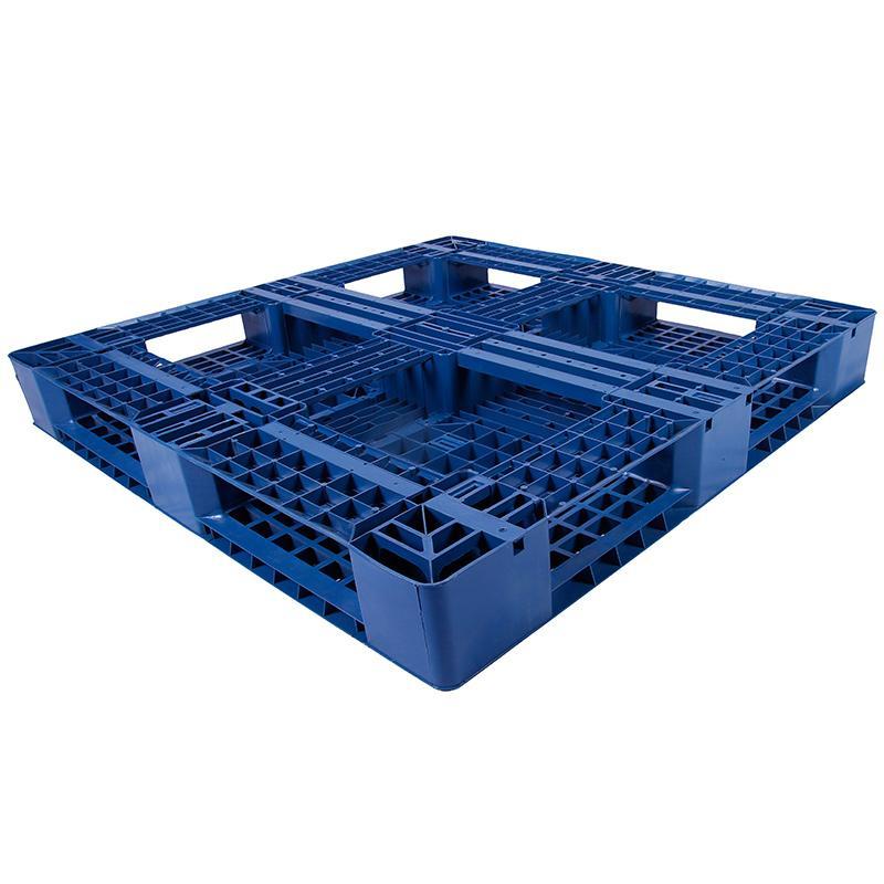 田字网格托盘(8根钢管),改性HDPE,1200*1000*150mm,静载5T,动载1.2T,TK1210TW-A8,蓝色