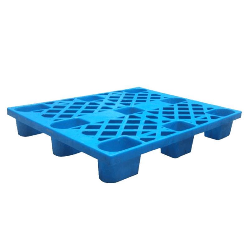 轻型塑料托盘,1000*800*140mm,动载500kg,静载1500kg,蓝色