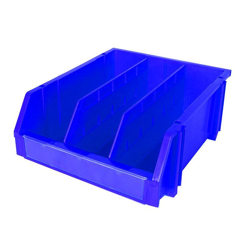 力王 组立背挂零件盒,外尺寸D*W*H(mm):450×370×180,内尺寸D*W*H(mm):409×330×172,蓝色