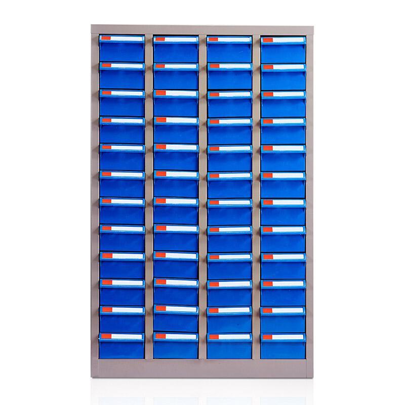 盛悦欣美 零件柜,48抽蓝色无门,尺寸(长×宽×高):600×220×940mm