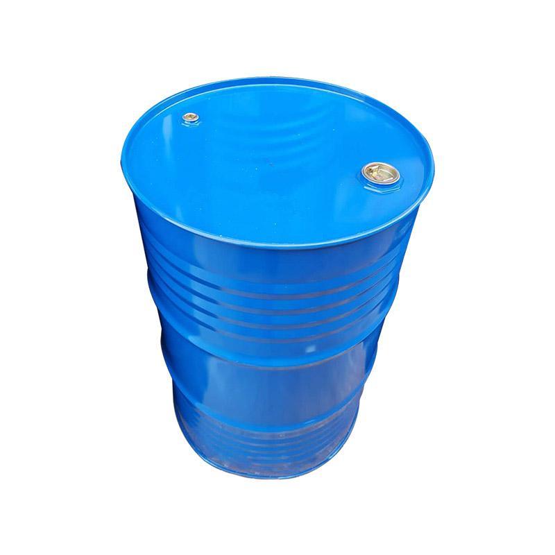 新明辉推荐 闭口蓝色烤漆油桶,200L,尺寸:Φ58.5×L88.5cm,18kg