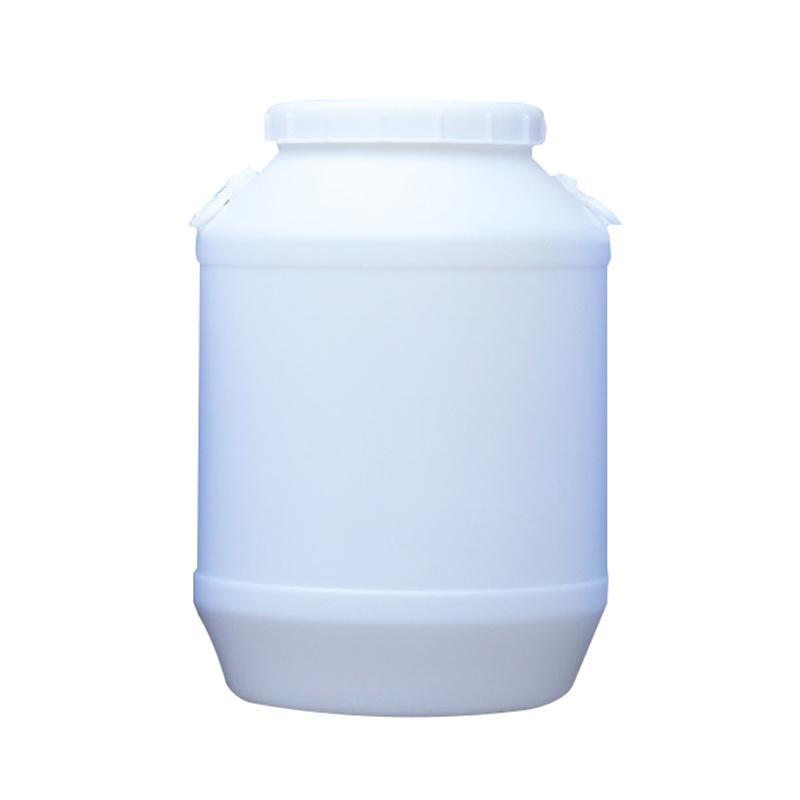 白色塑料圆桶,50L,尺寸:410×610mm