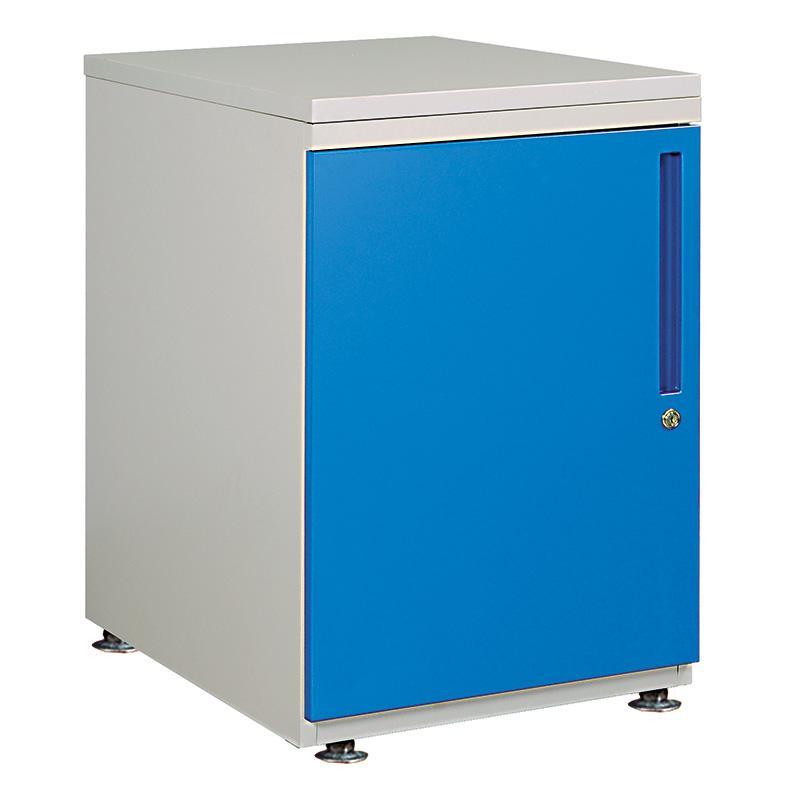 佰斯特 蓝门开门柜,左柜 500*650*760,DK-051 固定型