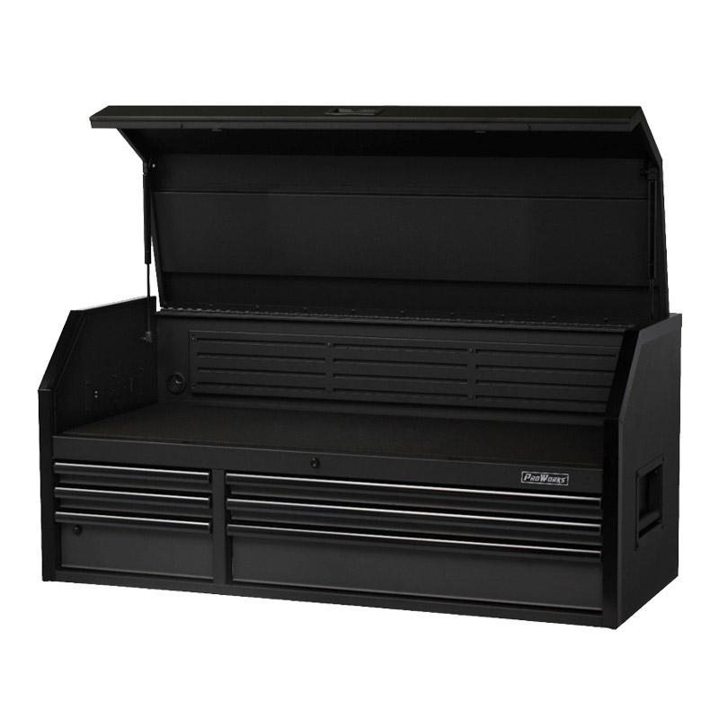 PROWORKS 52寸6斗工具柜,产品尺寸:1313×537×592mm,P52CH6TR9HD-1,整体静态额定负载400kg