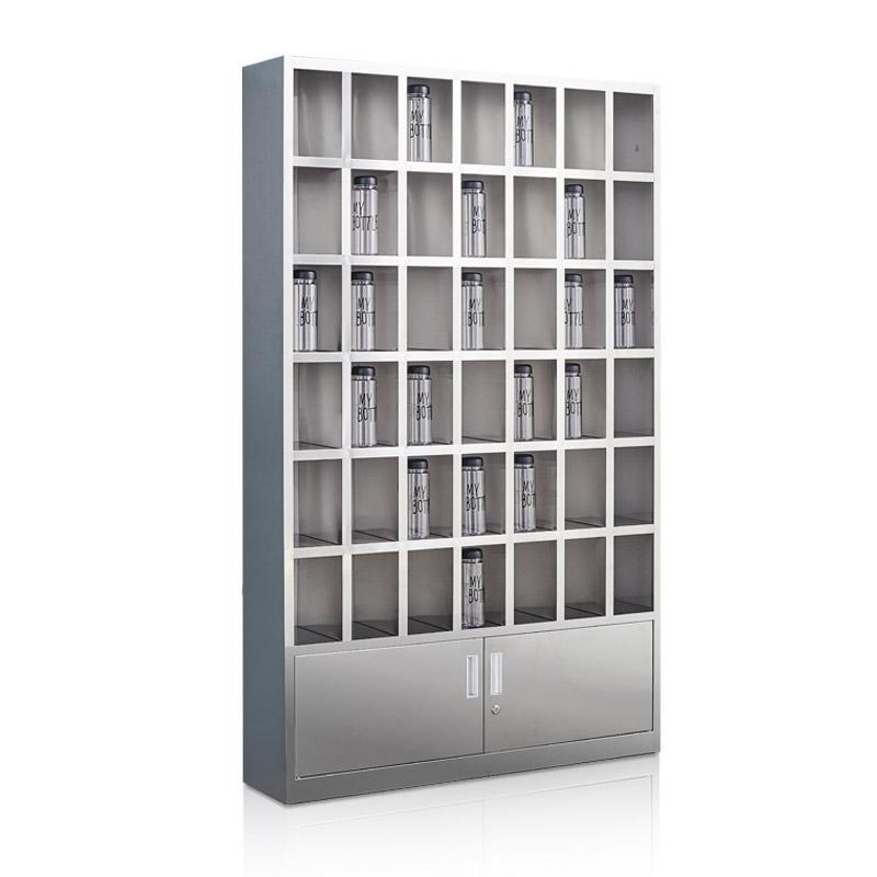 盛悦欣美 不锈钢水杯柜,42格,304不锈钢材质