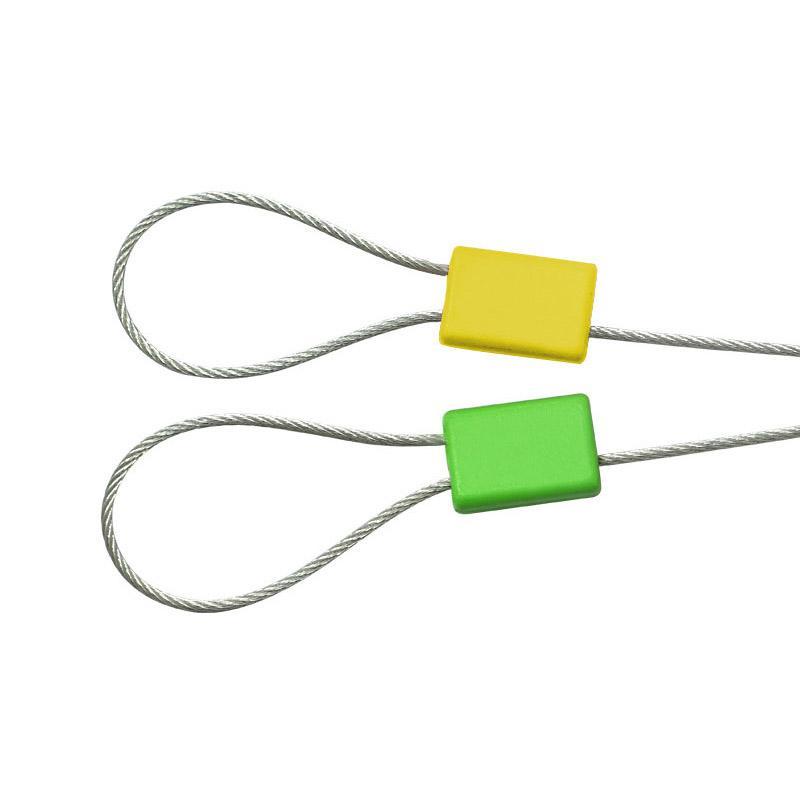 安赛瑞 定制方头钢丝铅封(1000根装)Φ1.8×400mm(包),23478