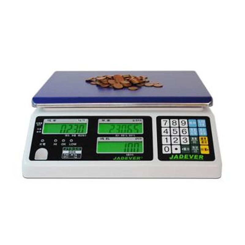 杰特沃 新型计数电子秤 JTS-6LC高精度版,量程6kg,精度0.1g