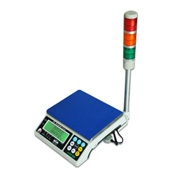 杰特沃 三色灯报警电子计重秤,3kg,最小感量0.1g(加卡加灯),加rs232串口