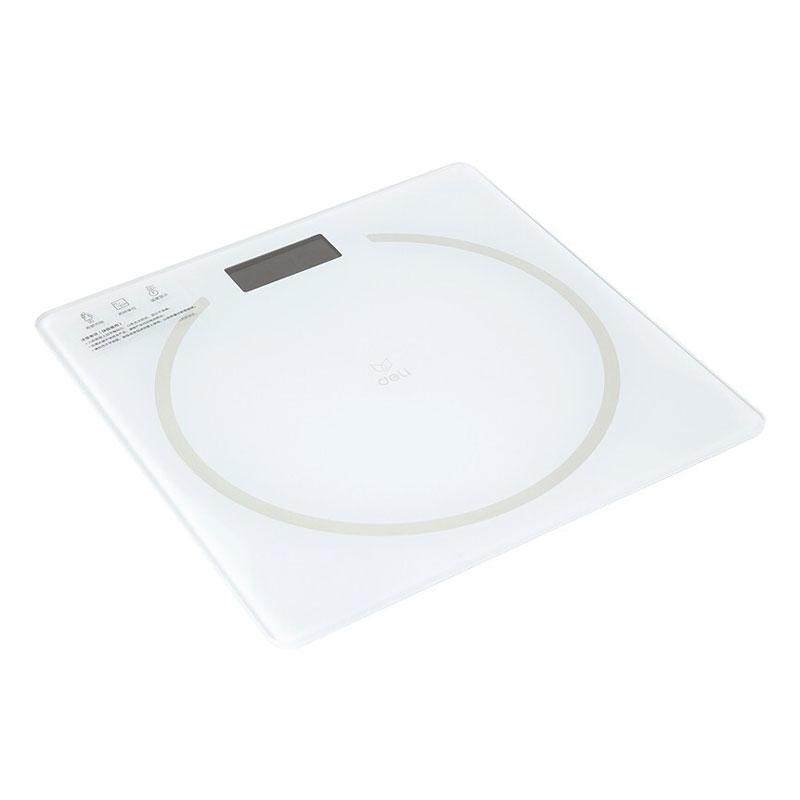 得力 体重秤(白),86101,单位:个
